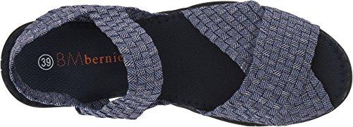 Bernie Mev. Bernie Mev. Balmy Kvinders Criss Cross Strap Sandal Jeans Shimmer Balsamisk Kvinders Kryds Kryds Rem Sandal Jeans Glitre cmCCrx