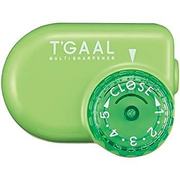 Kutsuwa STAD Angle Adjustable Pencil Sharpener T'GAAL, Green (RS017GR)