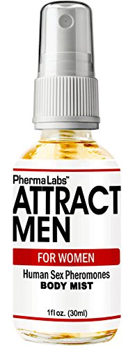 (PhermaLabs Attract Men Instantly Pheromones Body Mist For Women- 1 oz (30ml)- Highest Concentration Of Pheromones Possible- Increases Sex Drive- Fresh & Long-lasting Smell)