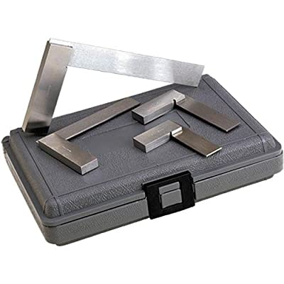 Brown & Sharpe 599-540-2346 4 Piece Workshop Square Set: Industrial & Scientific