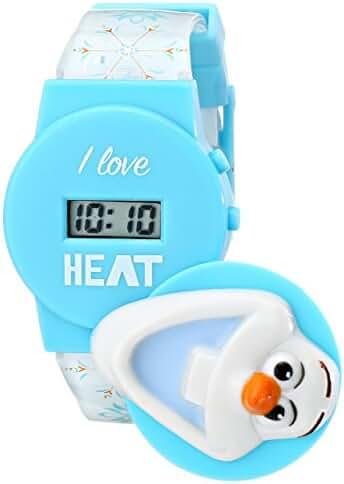 Disney Kids' FNFKD042 Frozen Olaf Musical Watch