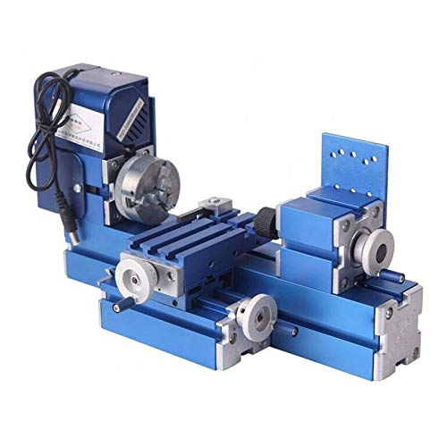 Hengwei Mini Motorized Lathe Machine 24W DIY Tool Metal Woodworking Hobby Modelmaking