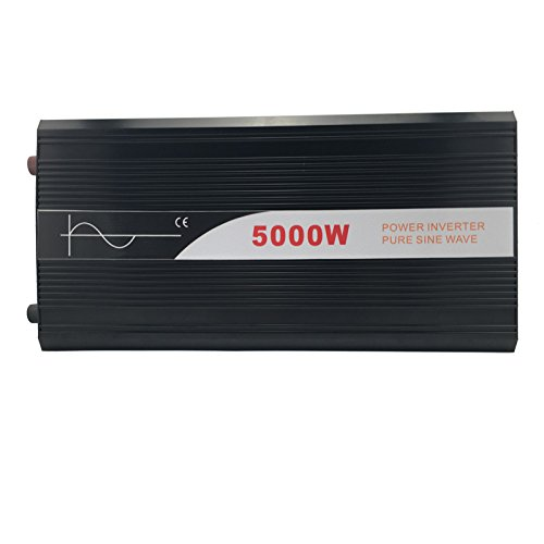 Xijia 5000W (Peak 10000W) Pure Sine Wave power Inverter DC 12V 24V 48V to AC 120V 60HZ Solar converter For Home Use car (DC 48V to AC 120V)