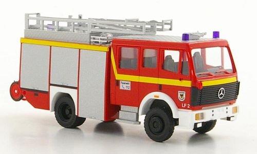 Mercedes MK88 1222, Fire department Dortmund , 1998, Model Car, Ready-made, Busch 1:87