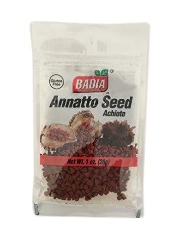 2 Bags-Whole Annatto Seed Annato anato Anatto/Achiote entero Kosher 2x1oz