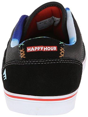 Emerica The Herman G6 - Scarpe Vulcanizzate Happy Hour Nere e Bianche