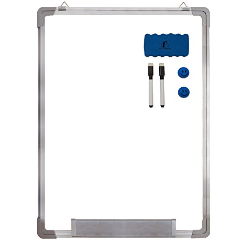 Whiteboard Set - Dry Erase Board 24 x 18