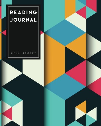 Download Reading Journal: The Best Gift for Book Lovers - Geometric Design PDF