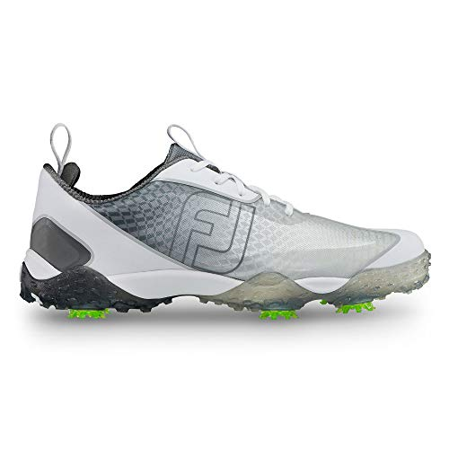 (FootJoy Men's Freestyle 2.0-Previous Season Style Golf Shoes Silver 10 M, Charcoal/White, US)