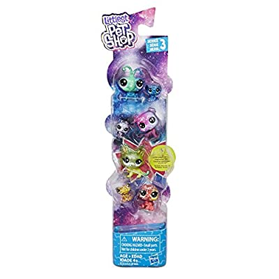 Littlest Pet Shop Cosmic Pounce Friends: Toys & Games
