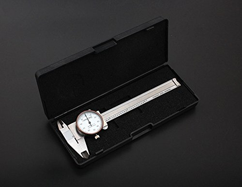 Accusize - 4'' x 0.001'' Precision Dial Caliper, Stainless Steel in Fitted Box, #P920-S214