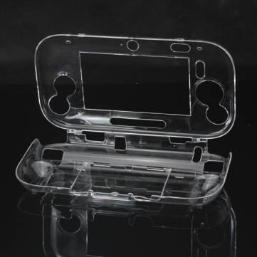 - Bheema Protective Crystal Hard Case Cover For Wii U Gamepad Transparent