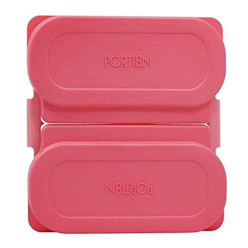 BariWare Portion8 Plate Set Perfect Pink