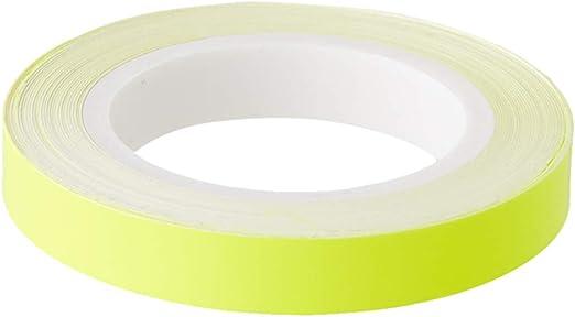 4r Quattroerre It 10805 Selbstklebende Eyeliner Dekorstreifen Für Auto Scheinwerfer Fluogelb 7 Mm X 3 Mt Neongelb Auto