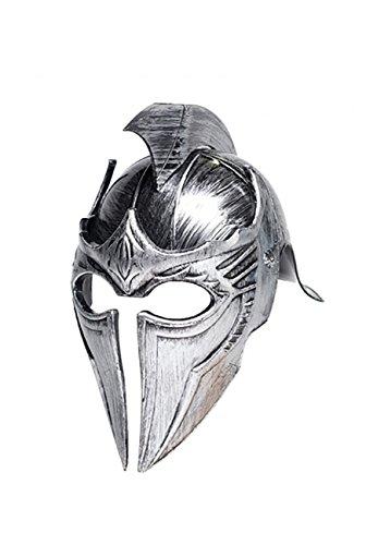 Medieval Soldier Costumes (Underwraps Adult Gladiator Point Helmet - Silver)