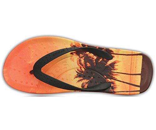 Crocs Chawaii Tropics Flip Mandarino 45-46