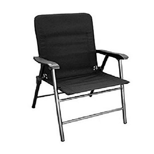 Prime Products 13-3349 Baja Black Elite Folding Chair