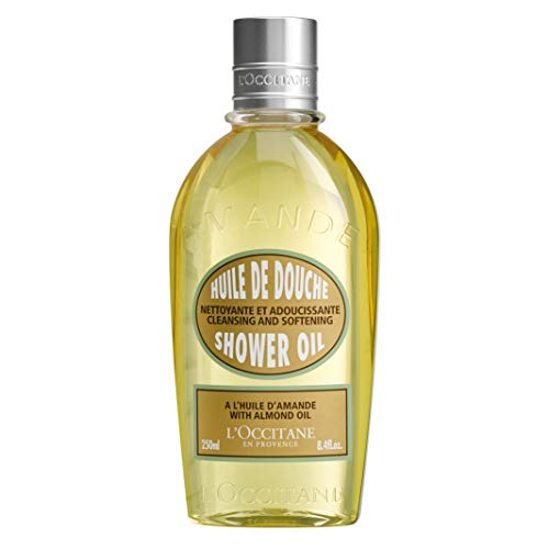 Oil Body Cleansing - L'Occitane Cleansing & Softening Almond Shower Oil, 8.4 fl. oz.