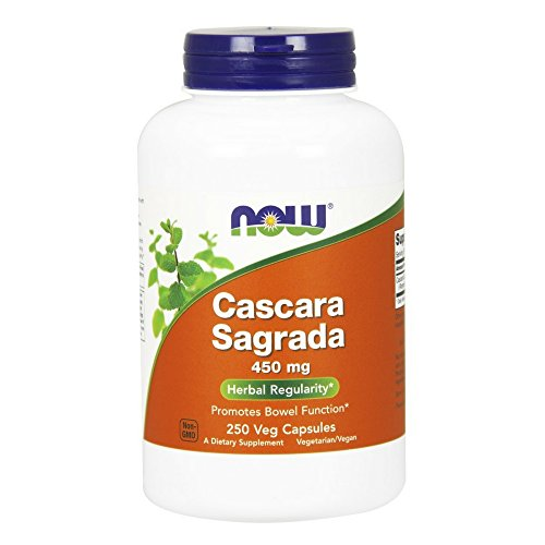 NOW Cascara Sagrada 450 mg,250 Capsules by NOW Foods
