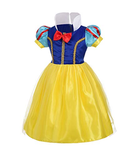 (Dressy Daisy Baby-Girls' Princess Snow White Costume Fancy Dresses Up Halloween Party Size 12-18 Months)