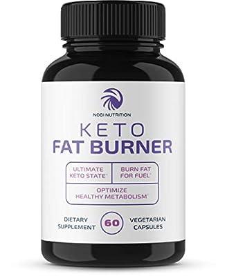Premium Keto Fat Burner - Weight Loss Supplement, Appetite Suppressant, Energy Booster – Apple Cider Vinegar Powder, Raspberry Ketones, Green Tea Extract, More - 60 Natural Vegetarian Diet Pills