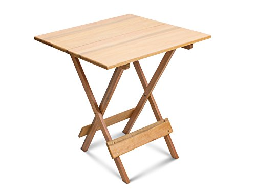 Wood Small Folding Table - Assembled by FIMAP