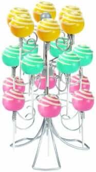 Home-X Swivel Lollipop Holder, Holds 18 Pops