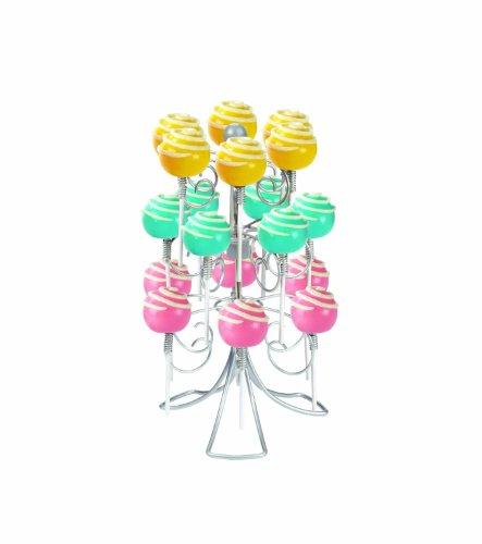 Home-X Swivel Lollipop Holder, Holds 18 (Lollipop Holder)