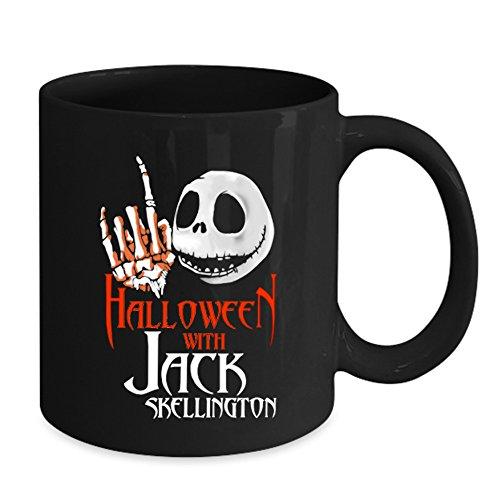 Halloween With Jack Skellington Mug - Happy Halloween 2017 (Happy Halloween Jack Skellington)