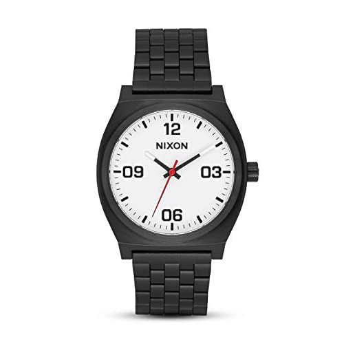 Nixon Mens Analogue Quartz Watch with Stainless Steel Strap A1247-005-00