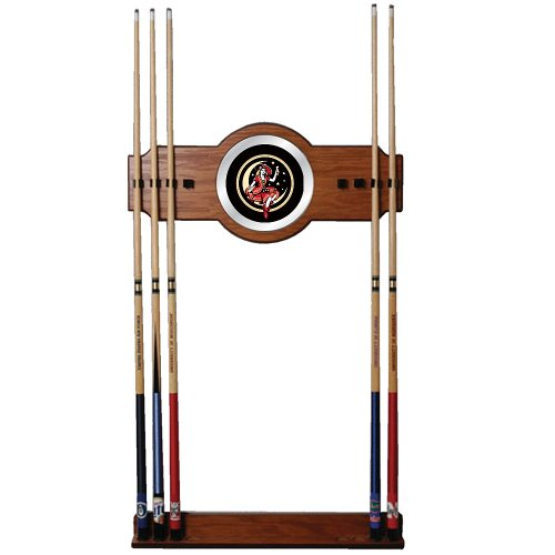 "Miller High Life ""Girl in the Moon"" Billiard Cue Rack with Mirror"