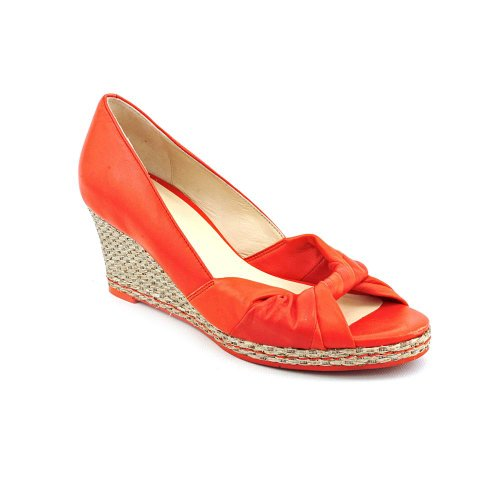 Cole Haan Femme Ava Toe Wedge (tomate Cerise / Orange, 11)