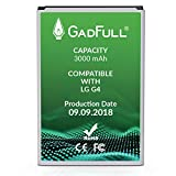 GadFull Battery compatible with LG G4 | 2018 Production Date | Corresponds to The Original BL-51YF | Compatible with LG G4 | G4 Dual Sim | G4 Stylus | H815 | H818P | H635