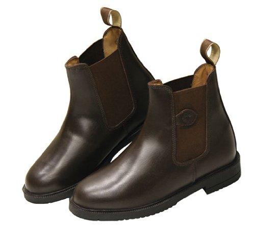 Covalliero 327199Botas de equitación, piel color marrón (Brown), talla 44