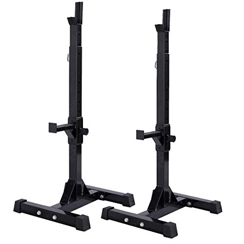 Muorka Adjustable Barbell Stands Dumbbell