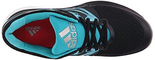 Adidas Vrouwen Stabil Boost Volleybal Schoen Kern Zwart / Sok Groen / Wit