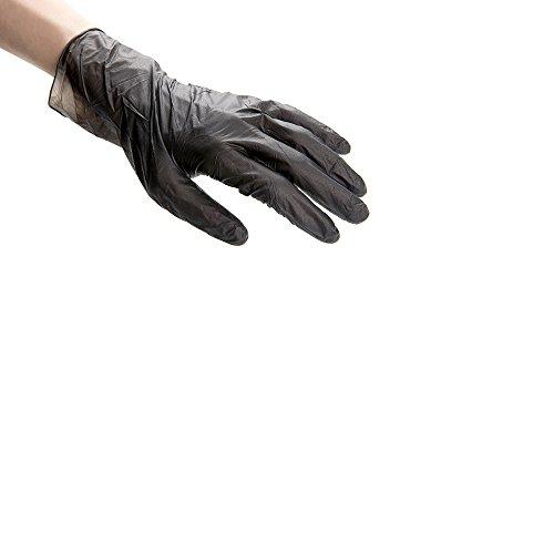 Large Black Nitrile Gloves Restaurantware
