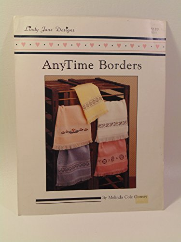 AnyTime Borders by Melinda Cole Gorney Needlepoint Design (Border Needlepoint)
