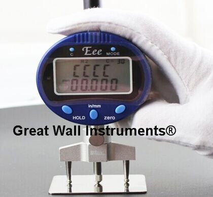 CGOLDENWALL High accuracy digital radius gauge indicator R gauge Digital radian gauge withou battery need to buy another battery