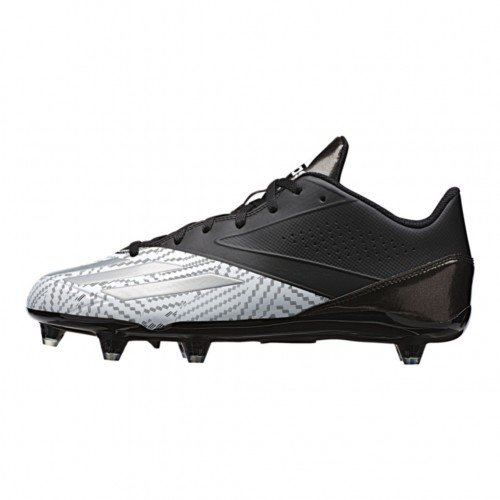 adidas Performance Men's 5-Star Low d Football Shoe, Black/Platinum/White, 9 M US