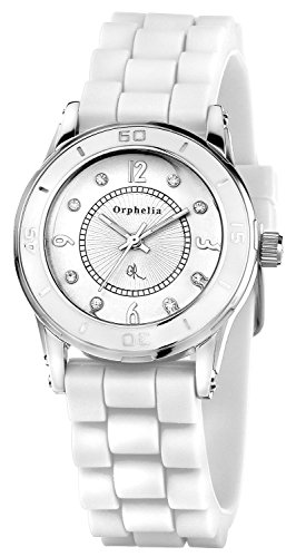 Orphelia OR22171281 - Women's Watch, Silicon, White Color