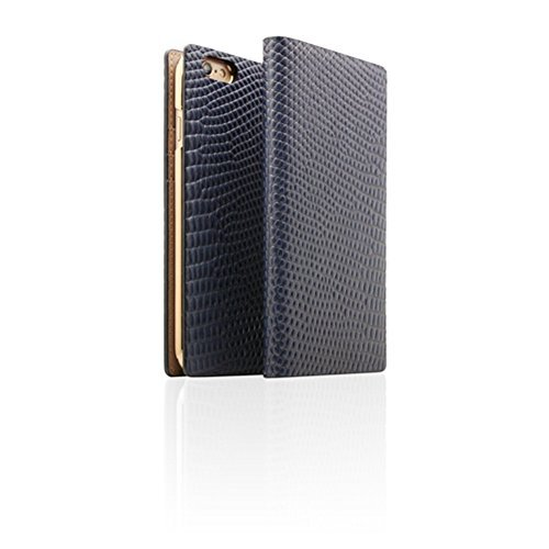 Click to buy iPhone 6 Plus Case, Premium Protective D3 Edition Lizard Leather Filp Case With Card Slots for Iphone 6/6s Plus 5.5inch(NAVY) - From only $217.59