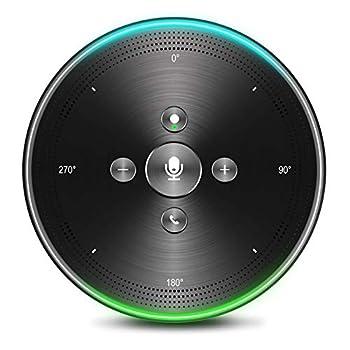 Image of Audio Conferencing AI Voice-to-Text Speakerphone- eMeet Note N1 Smart WiFi/Bluetooth Speakerphone Conference Speaker Role-Based & Directional Recording 4 omnidirectional Microphones 360° Voice Pickup, skype Speakerphone