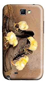 slim cases Chicken on Shoes PC case/cover for samsung galaxy N7100/2