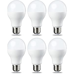 Amazon Basics Lampadina LED E27, 14W (equivalenti a 100W), Luce Bianca Calda - Pacco da 6 41vSGc8X04L. SS300