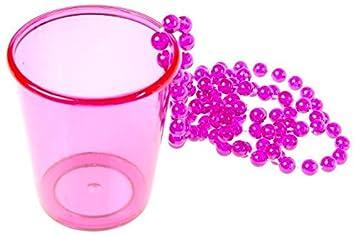 Party Schnapsglas Zum Umhangen Bunt Shot Glas Aus Kunststoff