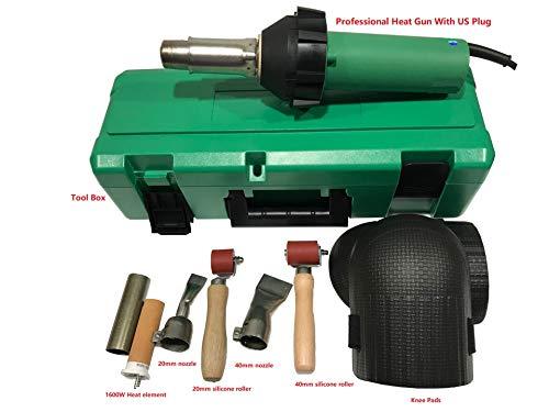 (1600W Heating Gun Hot Air Gun PVC TPO Plastic welding gun (Type D))