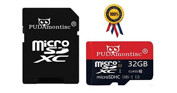 Amazon.com: Paquete de 2 tarjetas de memoria micro SDHC SD ...