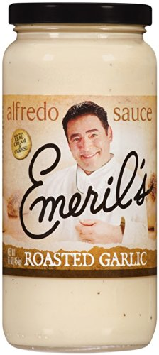 EMERILS SAUCE ALFREDO RSTD GARLIC, 16 OZ by Emeril