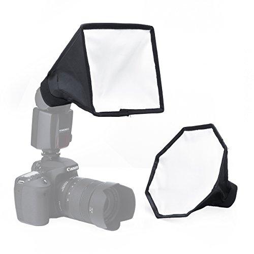 Flash Softbox for Speedlight Kit - Portable 8